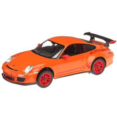 voiture radiocommand e 1 14 porsche gt3 orange jeux et jouets mondo avenue des jeux. Black Bedroom Furniture Sets. Home Design Ideas