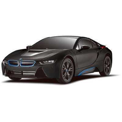 mondo voiture radiocommand e 1 18 bmw i8 noire rue des maquettes. Black Bedroom Furniture Sets. Home Design Ideas