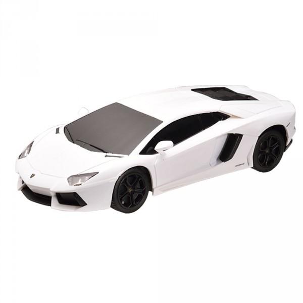 Voiture radiocommandée  1/24 : Lamborghini Aventador LP700-4 Blanche - Mondo-63131-Blanc