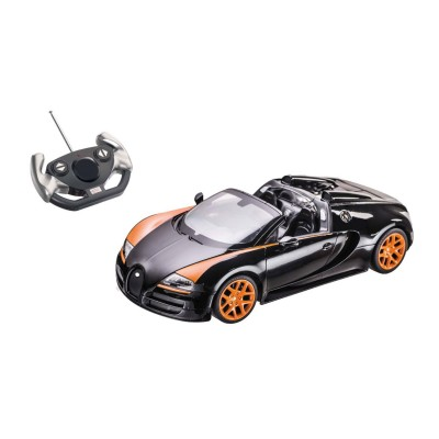 Voiture radiocommandée  1/14 : Bugatti Grand Sport vitesse Noire - Mondo-63262-Noir
