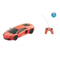 Voiture radiocommandée  1/24 : Lamborghini Aventador LP700-4 Orange
