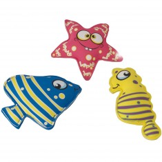 Set Aquafun animaux de plongée