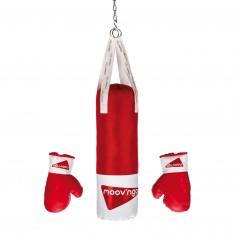 Set Boxe : Sac de frappe + gants