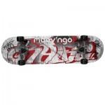 Skate rouge et Gris 78 cm