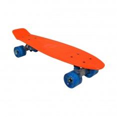 Skate Vintage orange roues bleues