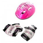 Set de 3 protections Junior S : Rose