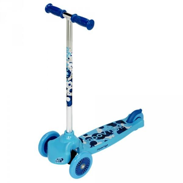 trottinette 3 roues moov 39 ngroove bleu jeux et jouets moov ngo avenue des jeux. Black Bedroom Furniture Sets. Home Design Ideas