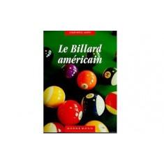 Livre : Le billard américain
