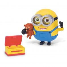 Figurine de luxe Minions : Bob et son ours en peluche