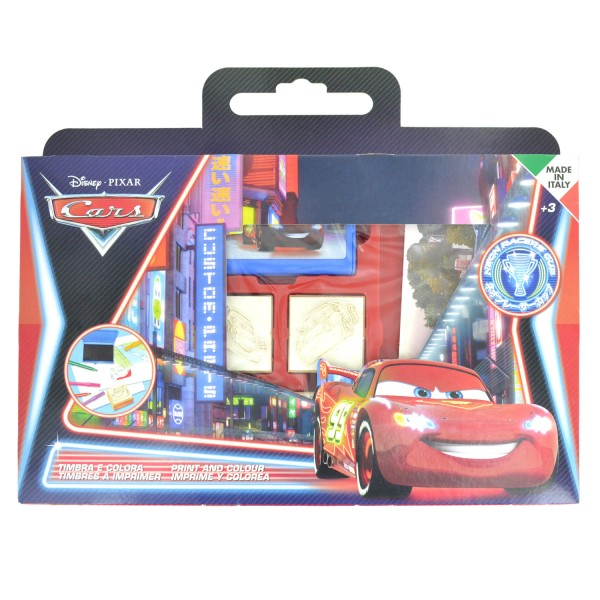 Valisette 7 tampons : Cars - Multiprint-7823