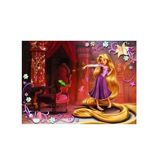 Puzzle 60 pièces - Raiponce : Pouvoir magique - Nathan-Ravensburger-86560