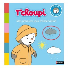 Cahier d'activités T'choupi : Mes premiers jeux d'observation