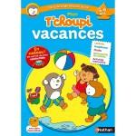 Cahier de vacances : Mon T'Choupi vacances : De la grande section au CP