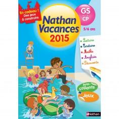 Cahier de vacances Maternelle : De la GS vers le CP Nathan vacances 2015