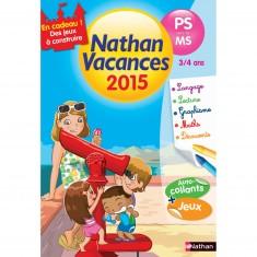Cahier de vacances Maternelle : De la PS vers la MS Nathan vacances 2015