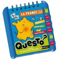 Carnet éducatif Questo : La France
