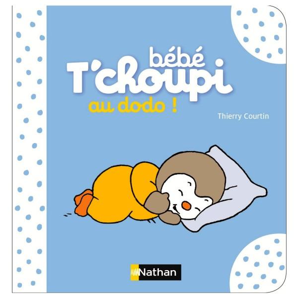 Livre Bébé T'choupi : Au dodo ! - Nathan-55881