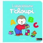 Livre éducatif : L'abécédaire de T'choupi