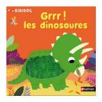 Livre kididoc : Grrr ! Les dinosaures