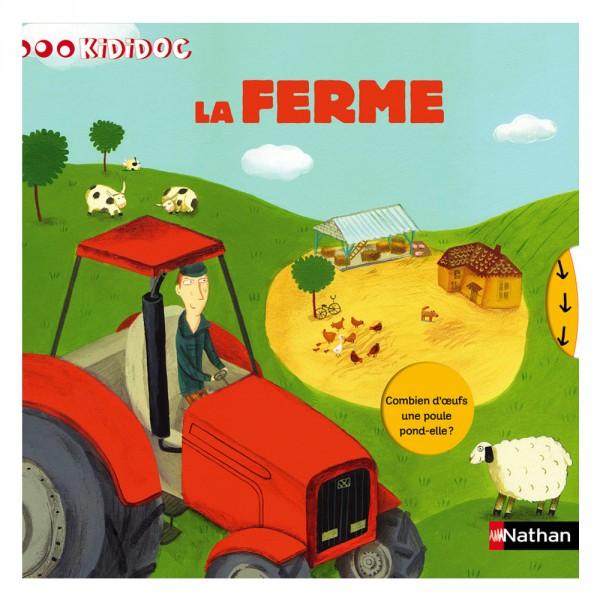 Livre Kididoc : La ferme - Nathan-52991