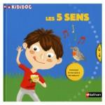 Livre Kididoc : Les 5 sens