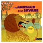 Livre Kididoc : Les animaux de la savane