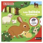 Livre Kididoc : Les bébés animaux