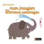 Livre Kididoc : Mon imagier des animaux sauvages