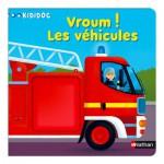 Livre Kididoc : Vroum ! Les véhicules