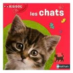 Livre Kididoc Animaux : Les chats