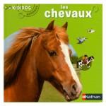 Livre Kididoc Animaux : Les chevaux