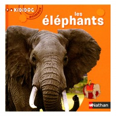 Livre Kididoc Animaux : Les éléphants