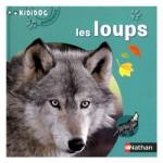 Livre Kididoc Animaux : Les loups