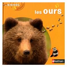 Livre Kididoc Animaux : Les ours
