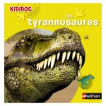 Livre Kididoc Animaux : Les tyrannosaures