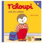 Livre T'Choupi est en colère