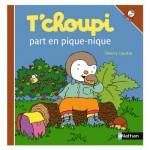 Livre T'Choupi part en pique-nique