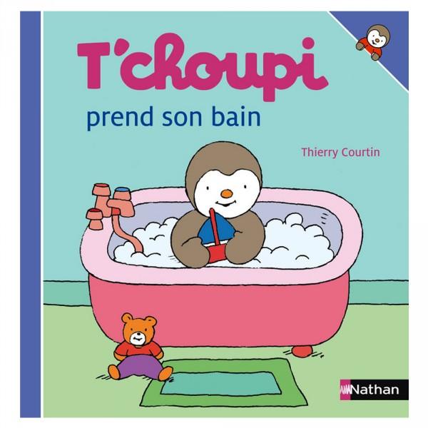 Livre t 39 choupi prend son bain jeux et jouets nathan - Tchoupi en voiture ...