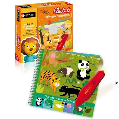 Mon livre quizz Les animaux sauvages - Nathan-31452