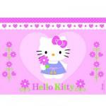 Puzzle 100 pièces - Une fleur pour Hello Kitty
