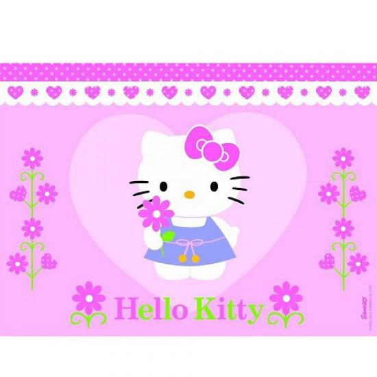 Puzzle 100 pièces - Une fleur pour Hello Kitty - Nathan-Ravensburger-86696