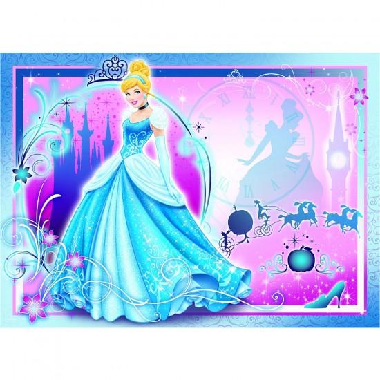 Puzzle 100 pièces : Cendrillon Vie de princesse - Nathan-Ravensburger-86709