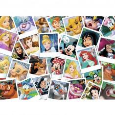 Puzzle 100 pièces : Disney portraits