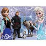 Puzzle 100 pièces Frozen : La reine des neiges