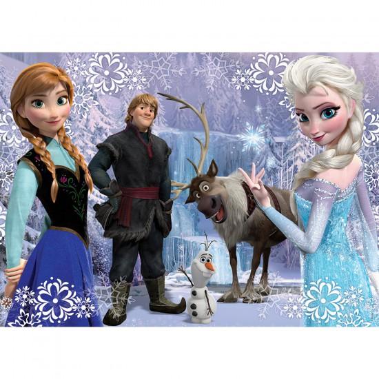 Puzzle 100 pièces : La Reine des Neiges (Frozen) - Nathan-Ravensburger-86719