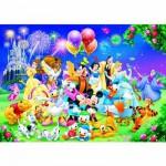 Puzzle 1000 pièces - La famille Disney