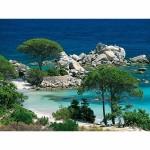 Puzzle 1000 pièces - Corse du Sud : Plage de la Palombaggia