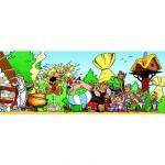 Puzzle 1000 pièces panoramique - Astérix et Obélix : Fort comme Astérix