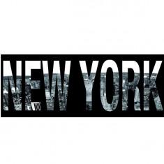 Puzzle 1000 pièces panoramique - New York script