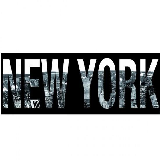 Puzzle 1000 pièces panoramique - New York script - Nathan-Ravensburger-87603